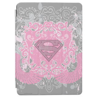 Supergirl Pink Winged Design iPad Air Cover