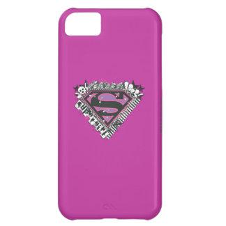 Supergirl Pins Logo iPhone 5C Case