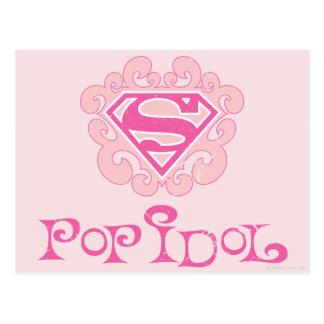 Supergirl Pop Idol Postcard