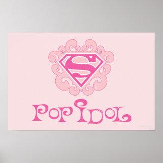 Supergirl Pop Idol Poster