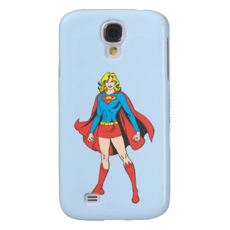 Supergirl Pose 5 Galaxy S4 Case