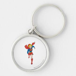 Supergirl Pose 8 Key Ring