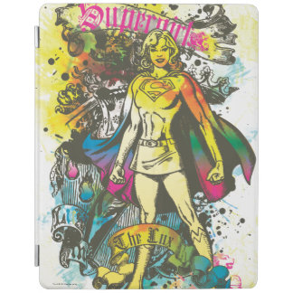 Supergirl Pose The Lux iPad Cover