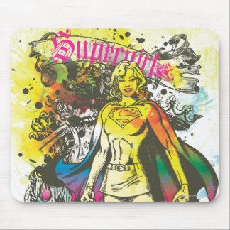 Supergirl Pose The Lux Mouse Mat