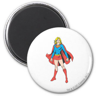 Supergirl Poses Magnet