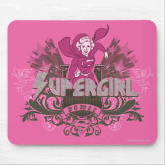 Supergirl Power 2 Mouse Mat
