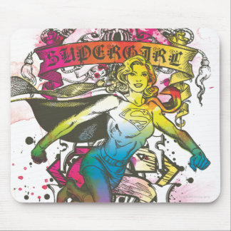 Supergirl Power Mouse Mat