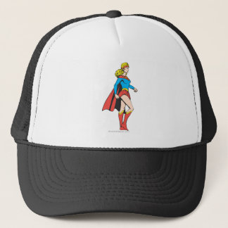 Supergirl Profile Trucker Hat