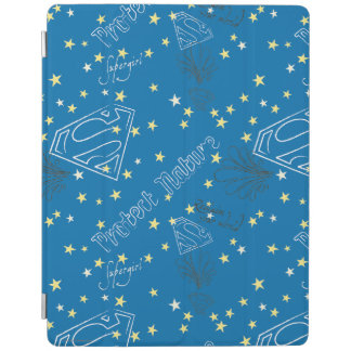 Supergirl Protect Nature Pattern iPad Cover