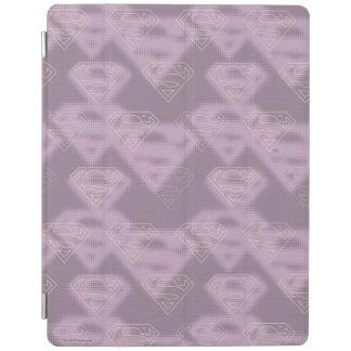 Supergirl Purple Halftone Logo iPad Cover