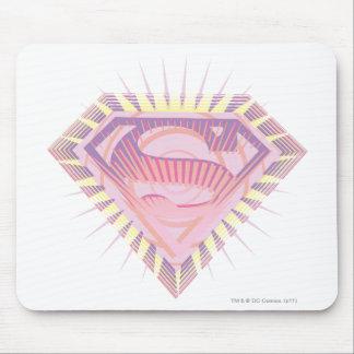 Supergirl Rad Logo Mousepads