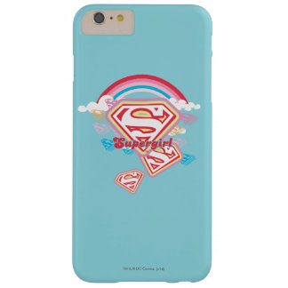 Supergirl Rainbow 2 Barely There iPhone 6 Plus Case