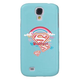 Supergirl Rainbow 2 Galaxy S4 Case