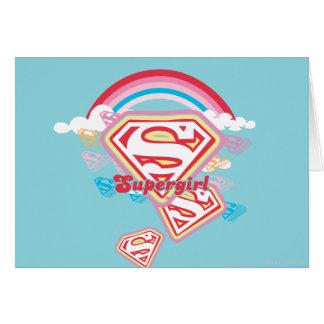 Supergirl Rainbow Card