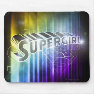 Supergirl Rainbow Mouse Mat