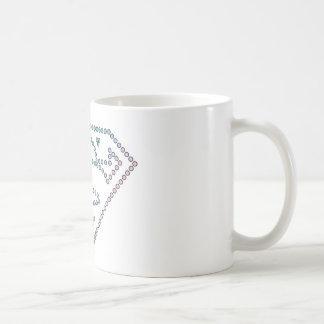 Supergirl Rainbow Outline Logo Coffee Mug