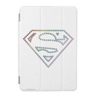 Supergirl Rainbow Outline Logo iPad Mini Cover