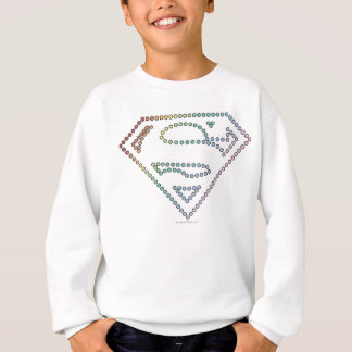 Supergirl Rainbow Outline Logo Sweatshirt