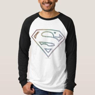Supergirl Rainbow Outline Logo T-Shirt