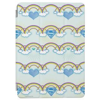 Supergirl Rainbow Pattern iPad Air Cover