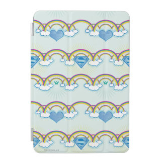 Supergirl Rainbow Pattern iPad Mini Cover