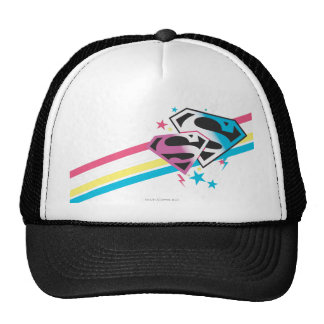 Supergirl Rainbow Stripes Cap