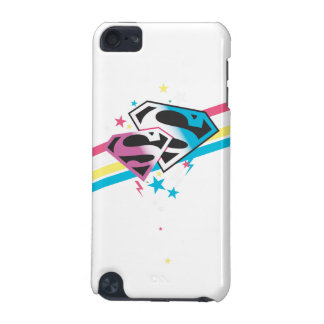 Supergirl Rainbow Stripes iPod Touch (5th Generation) Case