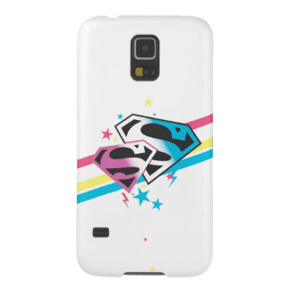 Supergirl Rainbow Stripes Case For Galaxy S5