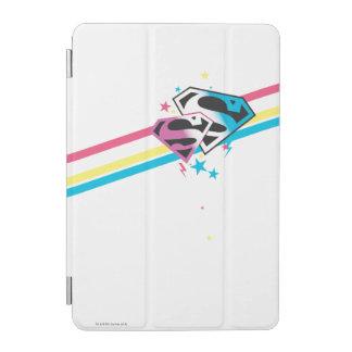 Supergirl Rainbow Stripes iPad Mini Cover