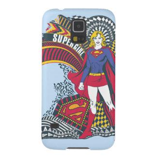 Supergirl Random World 1 Galaxy S5 Case