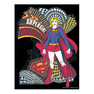 Supergirl Random World 1 Postcard
