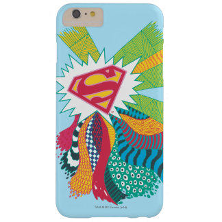 Supergirl Random World 3 Barely There iPhone 6 Plus Case