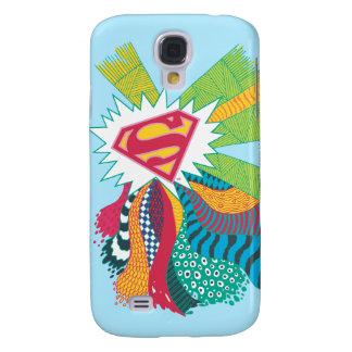 Supergirl Random World 3 Galaxy S4 Case