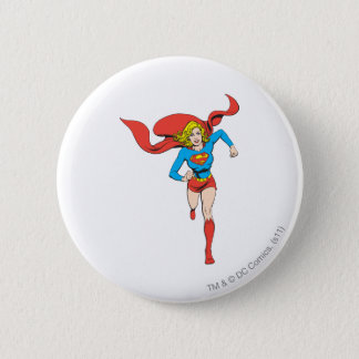 Supergirl Ready to Go 6 Cm Round Badge