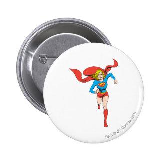 Supergirl Ready to Go 6 Cm Round Badge