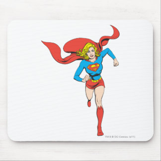 Supergirl Ready to Go Mouse Mat