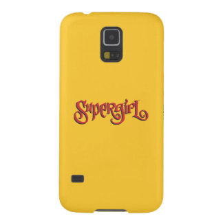 Supergirl Red Logo Galaxy S5 Cases