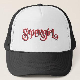 Supergirl Red Logo Trucker Hat