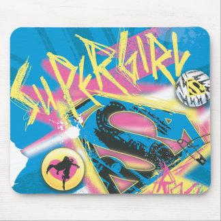 Supergirl Rocks Mouse Mat