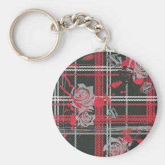 Supergirl Roses Basic Round Button Key Ring