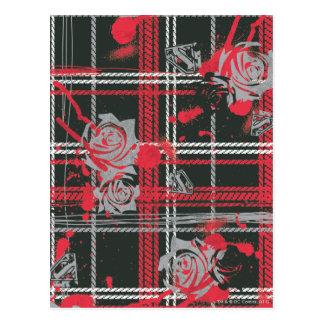 Supergirl Roses Postcard