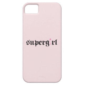 Supergirl Safety Pin Letter iPhone 5 Covers