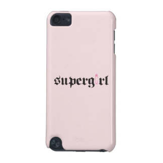 Supergirl Safety Pin Letter iPod Touch 5G Case