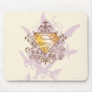 Supergirl Save Me Mouse Mat