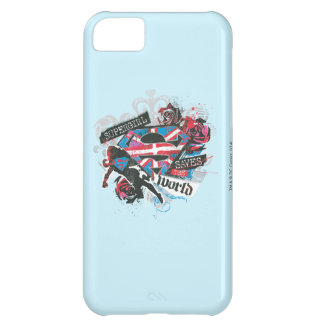 Supergirl Saves the World iPhone 5C Case