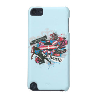 Supergirl Saves the World iPod Touch 5G Case