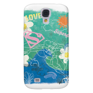 Supergirl Share the Spirit & Love Galaxy S4 Case