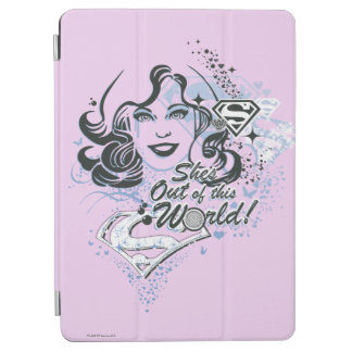 Supergirl She's Out of this World! iPad Air Cover