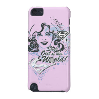 Supergirl She's Out of this World! iPod Touch (5th Generation) Case