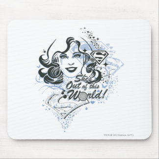 Supergirl She's Out of this World! Mouse Mat